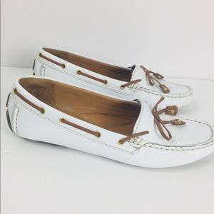 Clark's Artisan Leather Loafer Boat Shoes Sz 6M